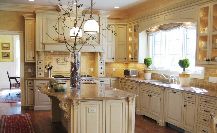 Cream Colored Kitchen Cabinets New In Home Decoration Ideas with Cream Colored Kitchen Cabinets babb4